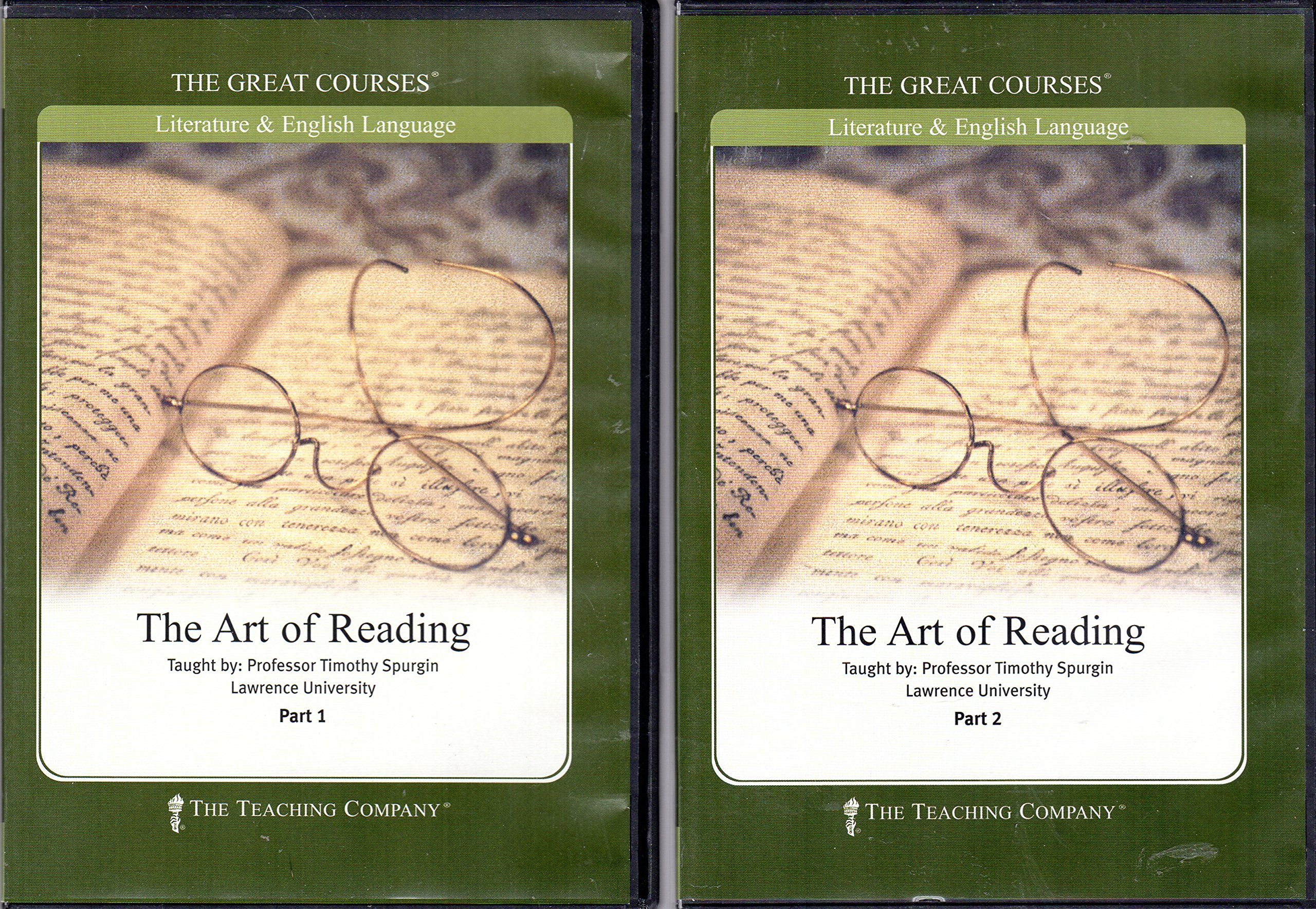 Read Online The Art of Reading Course (complete course. volumes 1 and 2 CD-ROMs; volumes 1 and 2 books; course guide) pdf epub