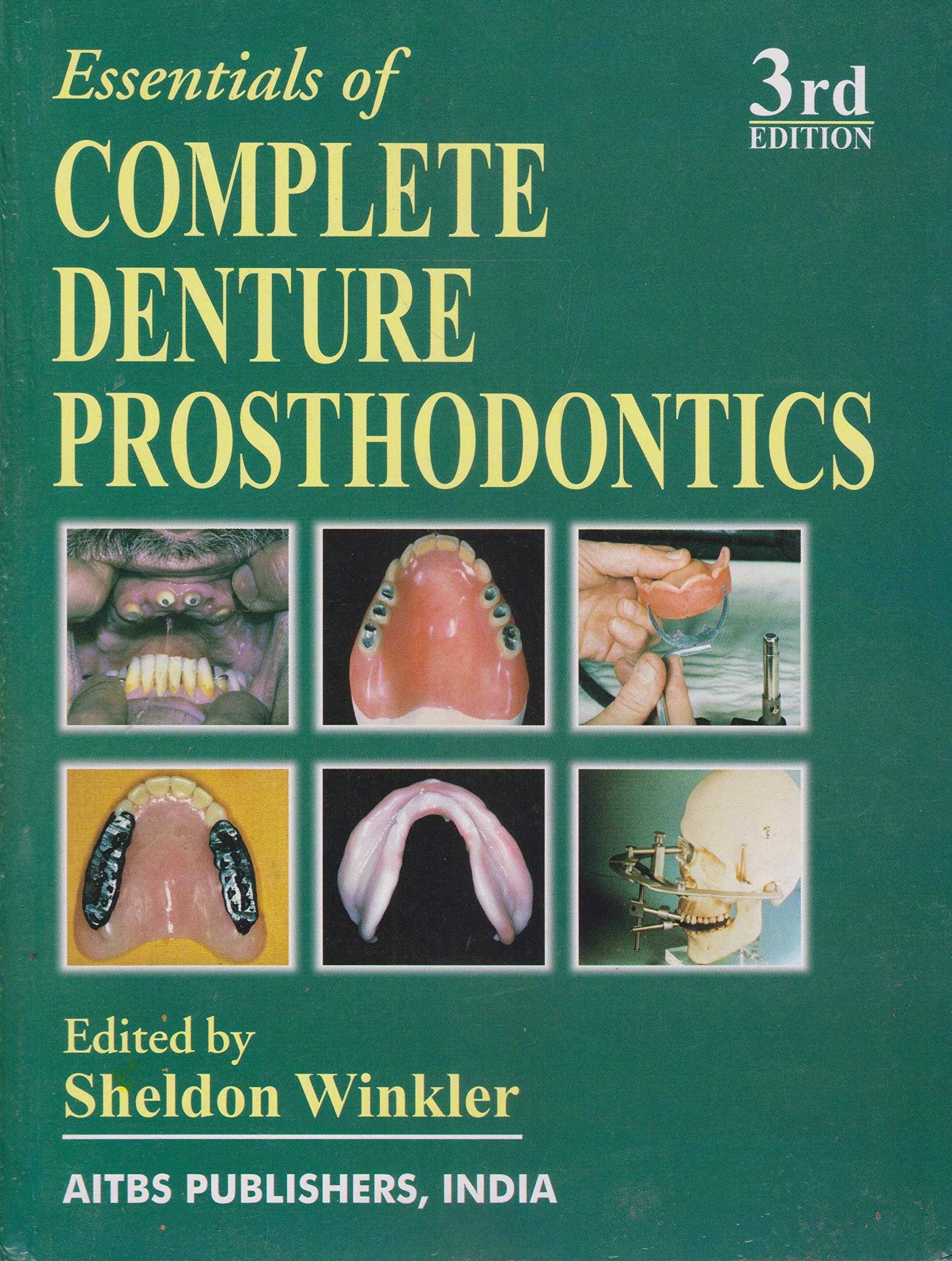 Prosthodontics Textbook Pdf