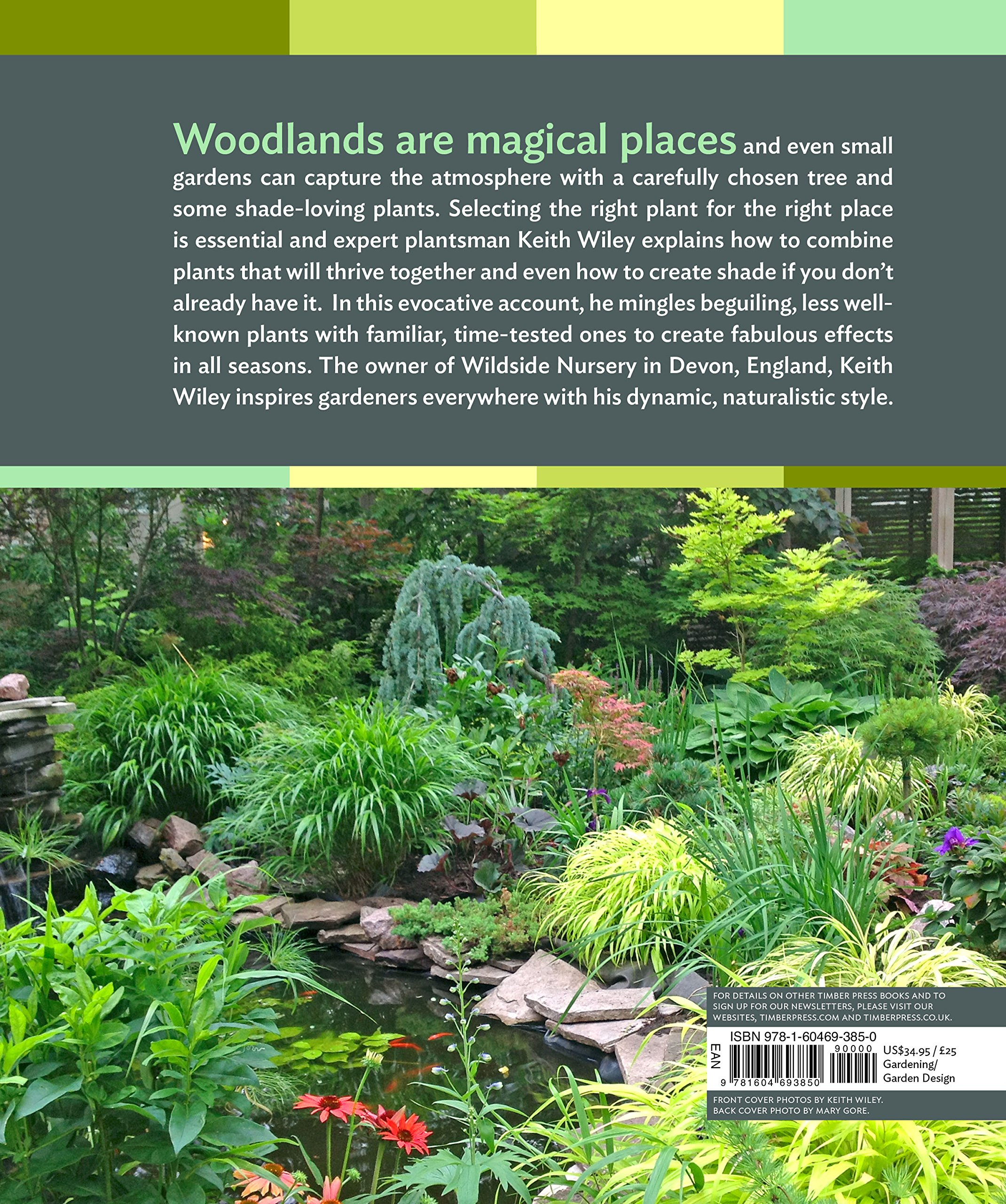 Designing And Planting A Woodland Garden Plants And Combinations - woodland garden design books