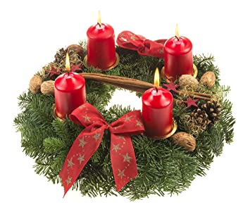 echter adventskranz online bestellen frohe weihnachten in europa. Black Bedroom Furniture Sets. Home Design Ideas