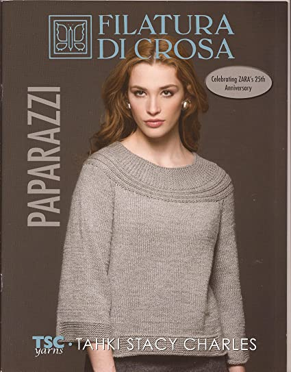 Amazon Paparazzi Filatura Di Crosa Tsc Knitting Pattern Book
