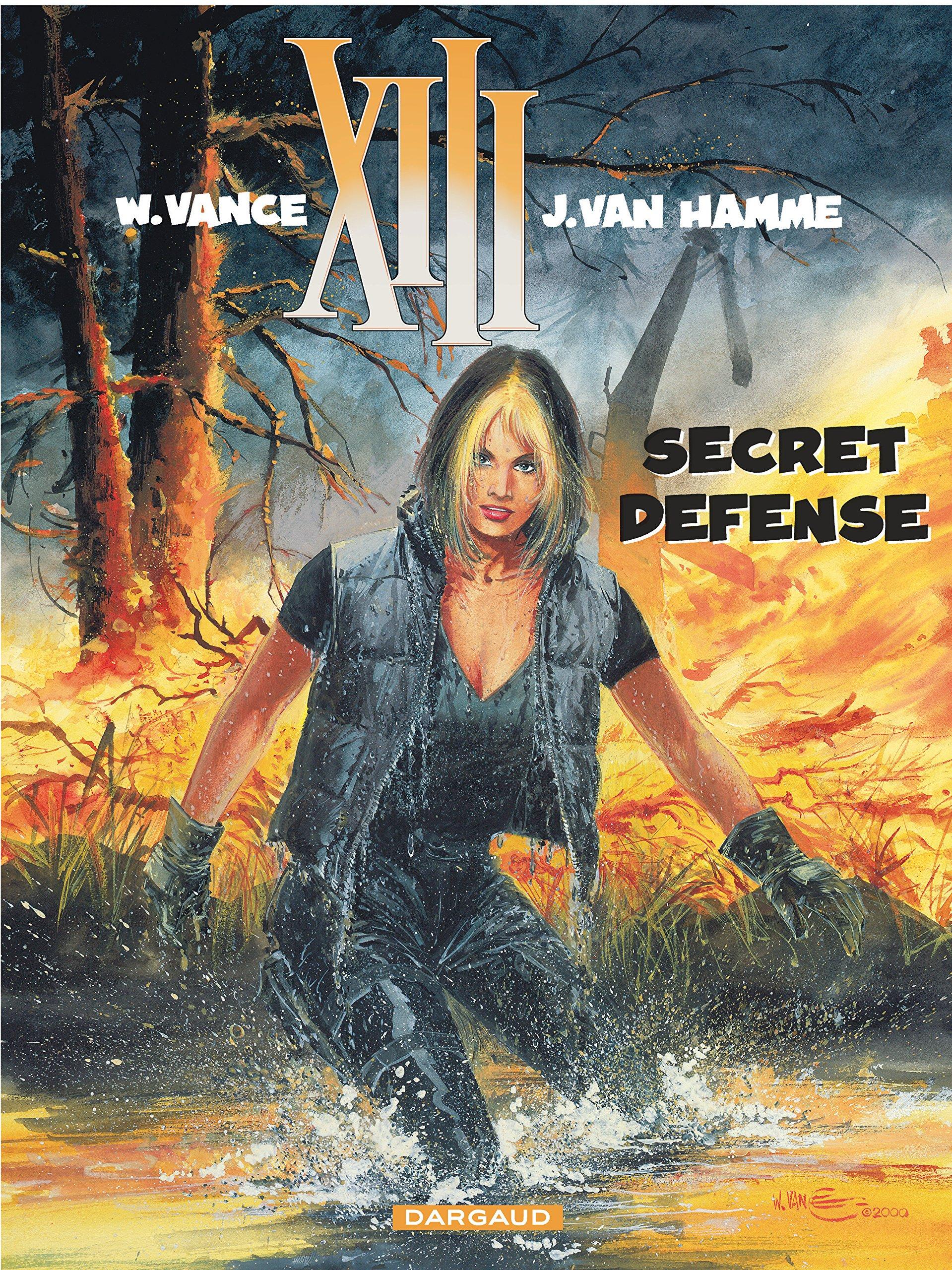 XIII, tome 14 : Secret défense: Jean Van Hamme, William Vance:  9782871292975: Amazon.com: Books