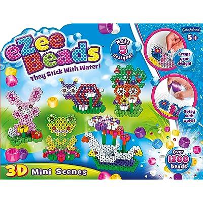 John Adams 10442 Ezee Beads - Juego de Mini escenas en 3D: Juguetes y juegos