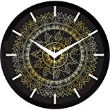 IT2M 11.75 Inches Designer Wall Clock for Home/Living Room/Bedroom/Kitchen (9096)