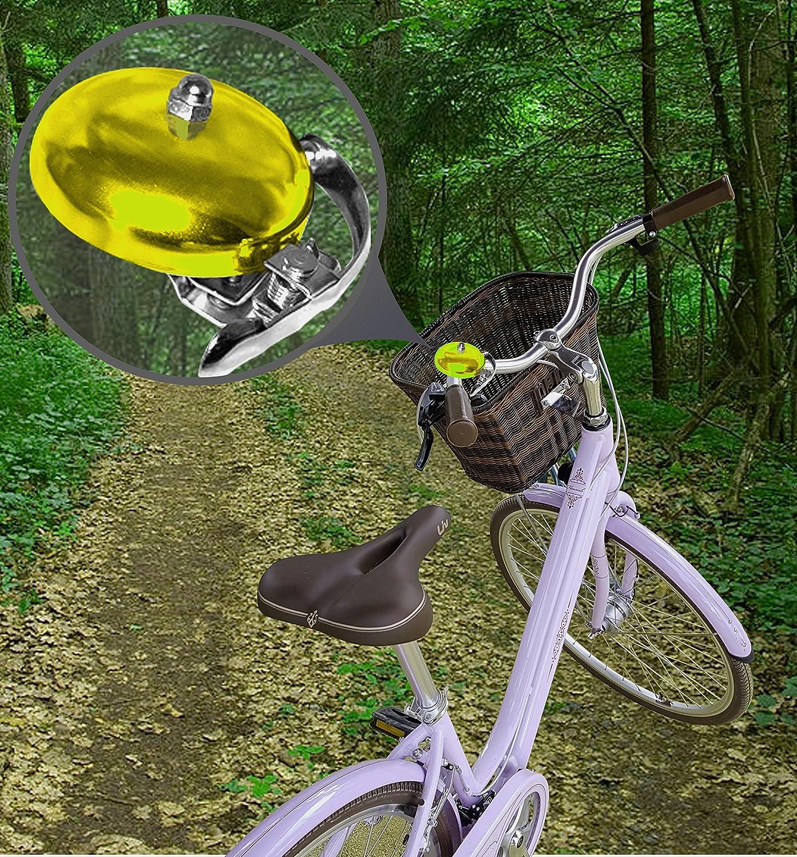 Vélo Cloche vélo Sonnette Cloche sonnette Bell Vélo Grand Noir