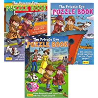 3 PACK The Private Eye Puzzle Book