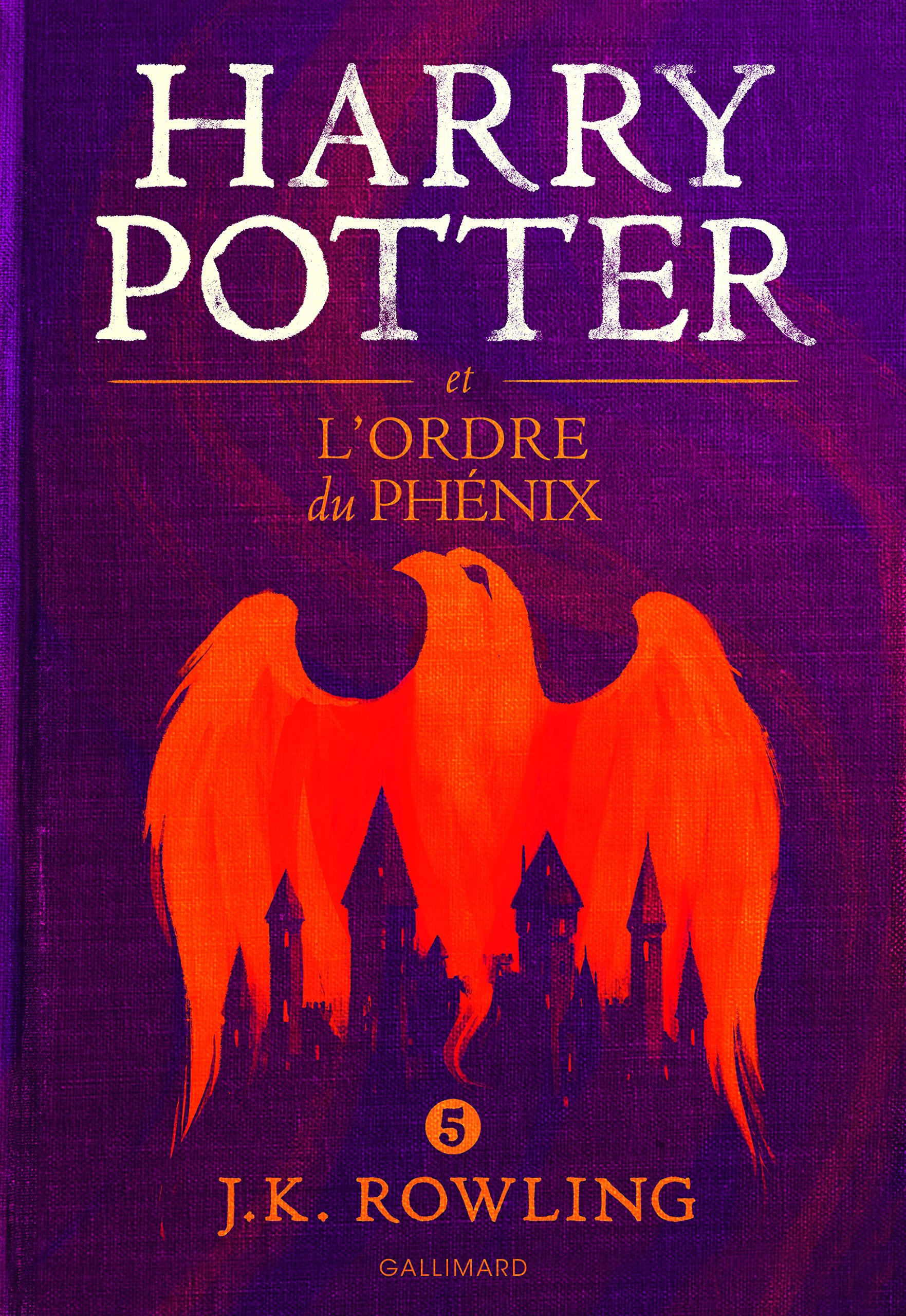 Harry Potter, V : Harry Potter et l'Ordre du Phénix - grand format [ Harry Potter and the Order of the Phoenix ] large format (French Edition) ebook