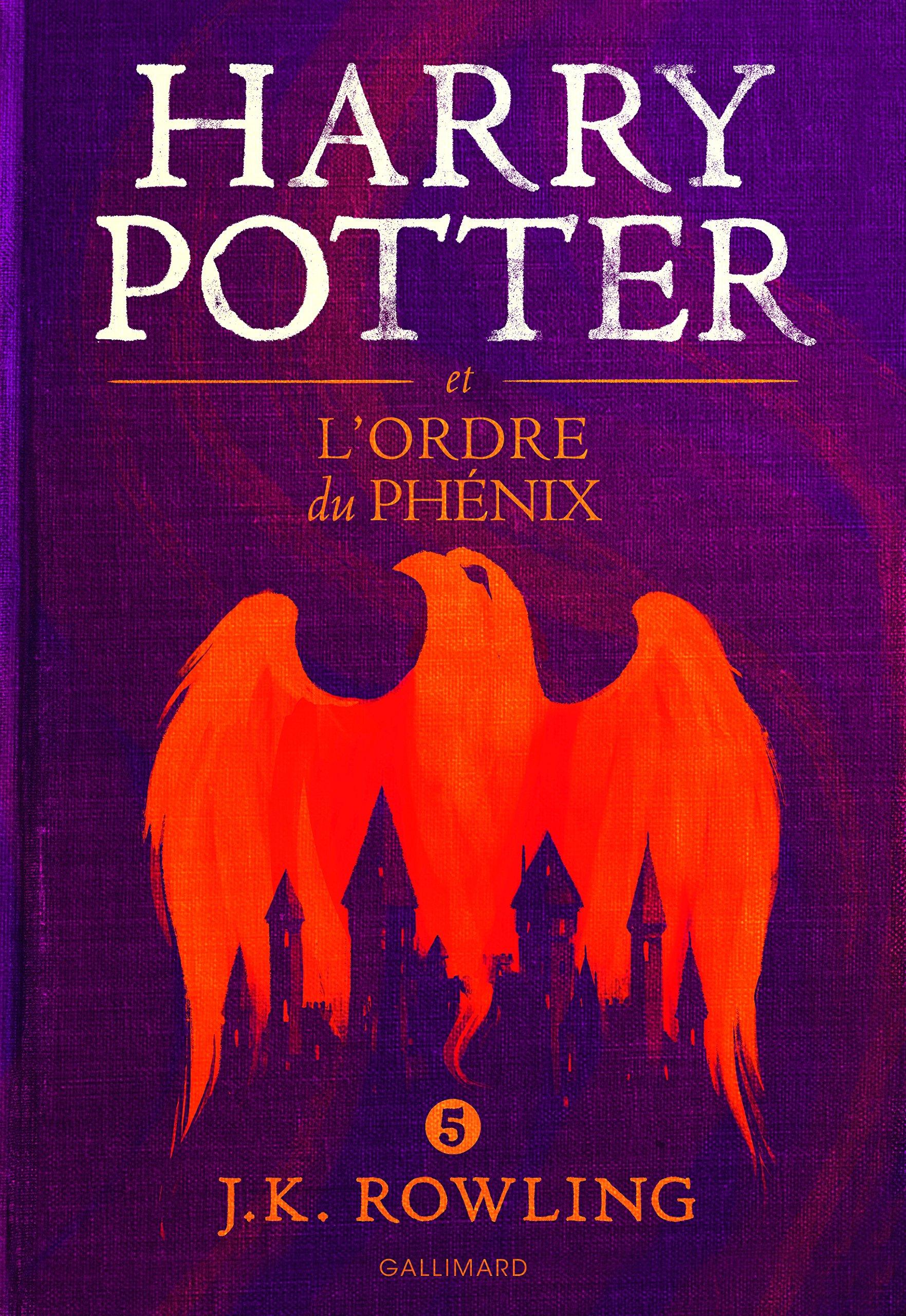 Read Online Harry Potter, V : Harry Potter et l'Ordre du Phénix - grand format [ Harry Potter and the Order of the Phoenix ] large format (French Edition) pdf epub