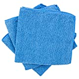 """Dry Rite Best Magic Microfiber Cloth - Professional Series Cleaning Towels for Fine Auto Finishes, Interior, Chrome, Kitchen, Bath, TV, Glass- Non Scratching, Streak Free, Use Wet or Dry - 12"""" x"""