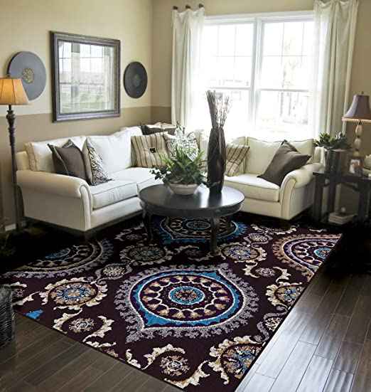 Amazon.com: Modern Area Rugs 5x7 Rugs Under 50 Prime: Home & Kitchen