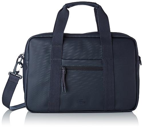 384351dba21 LACOSTE L.12.12 Concept Computer Bag Total Eclipse: Amazon.co.uk: Shoes &  Bags