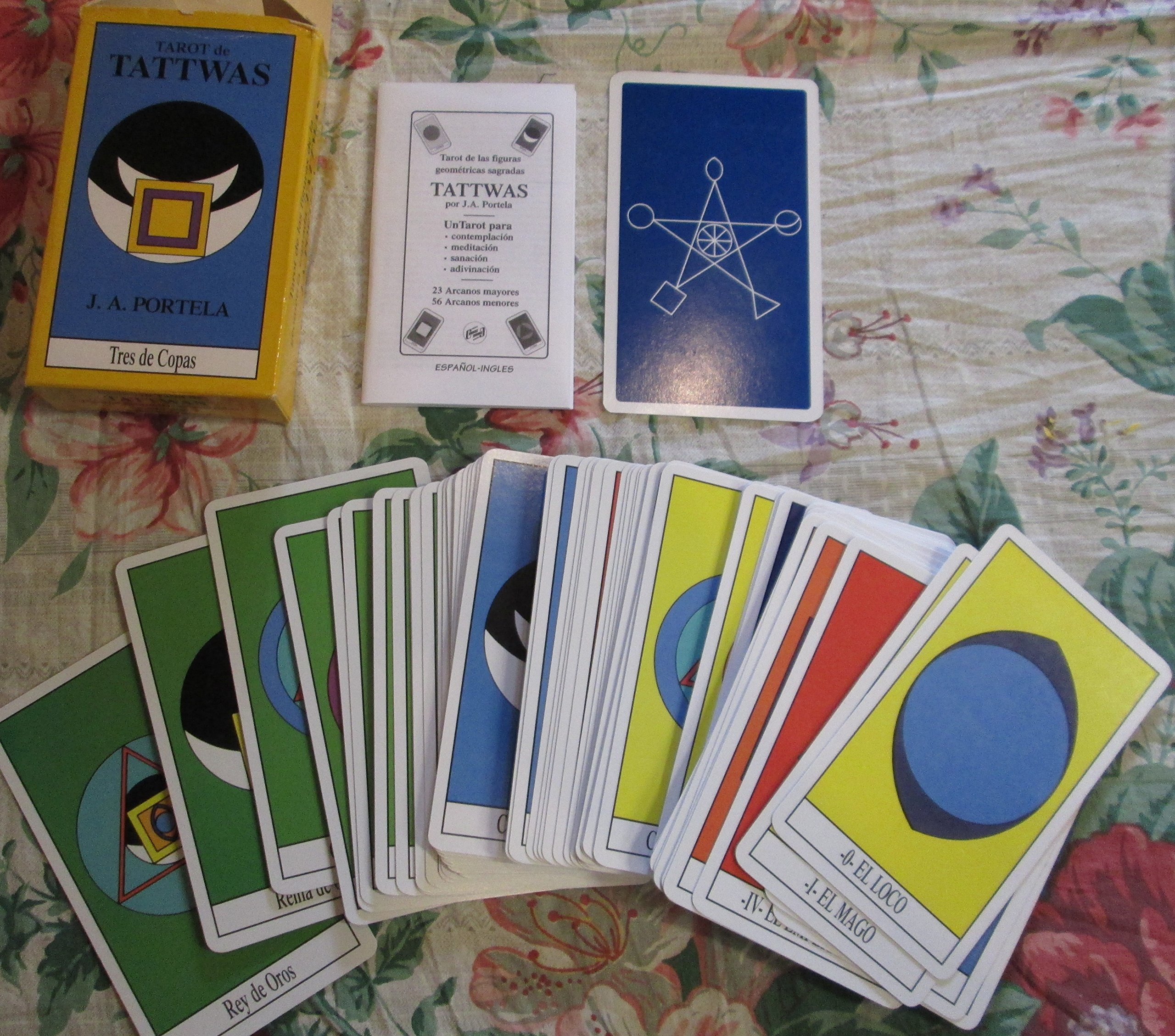 TAROT DE TATTWAS (CARTAS): Portela J.: Amazon.com: Books