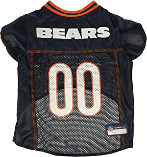 122502b3f Pets First Chicago Bears NFL Mesh Pet Jersey