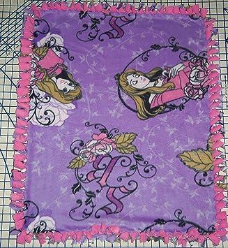 Amazon.com: Disney Princesa Aurora bella durmiente manta ...