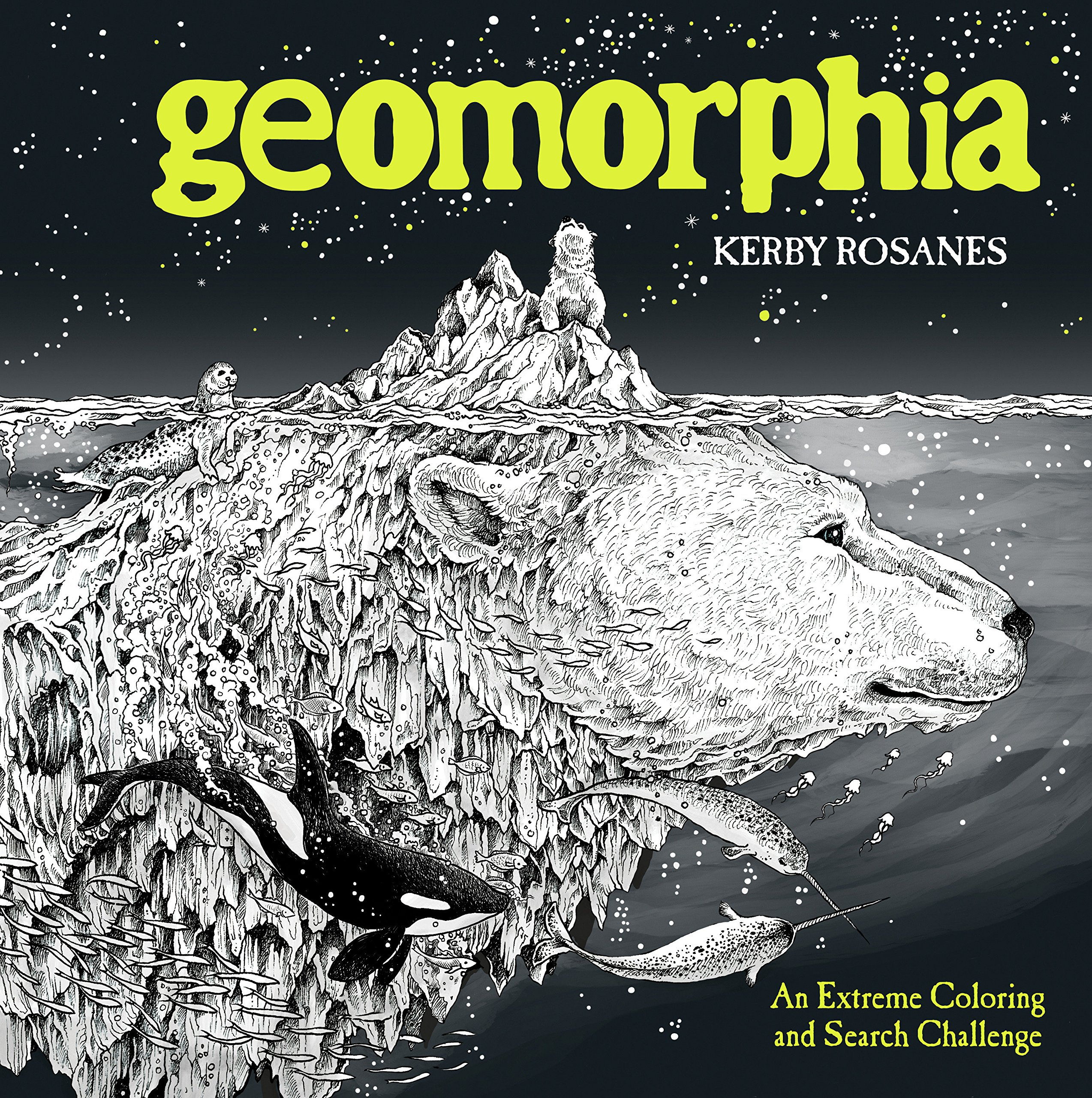 Amazon Geomorphia An Extreme Coloring And Search Challenge 9780525536734 Kerby Rosanes Books