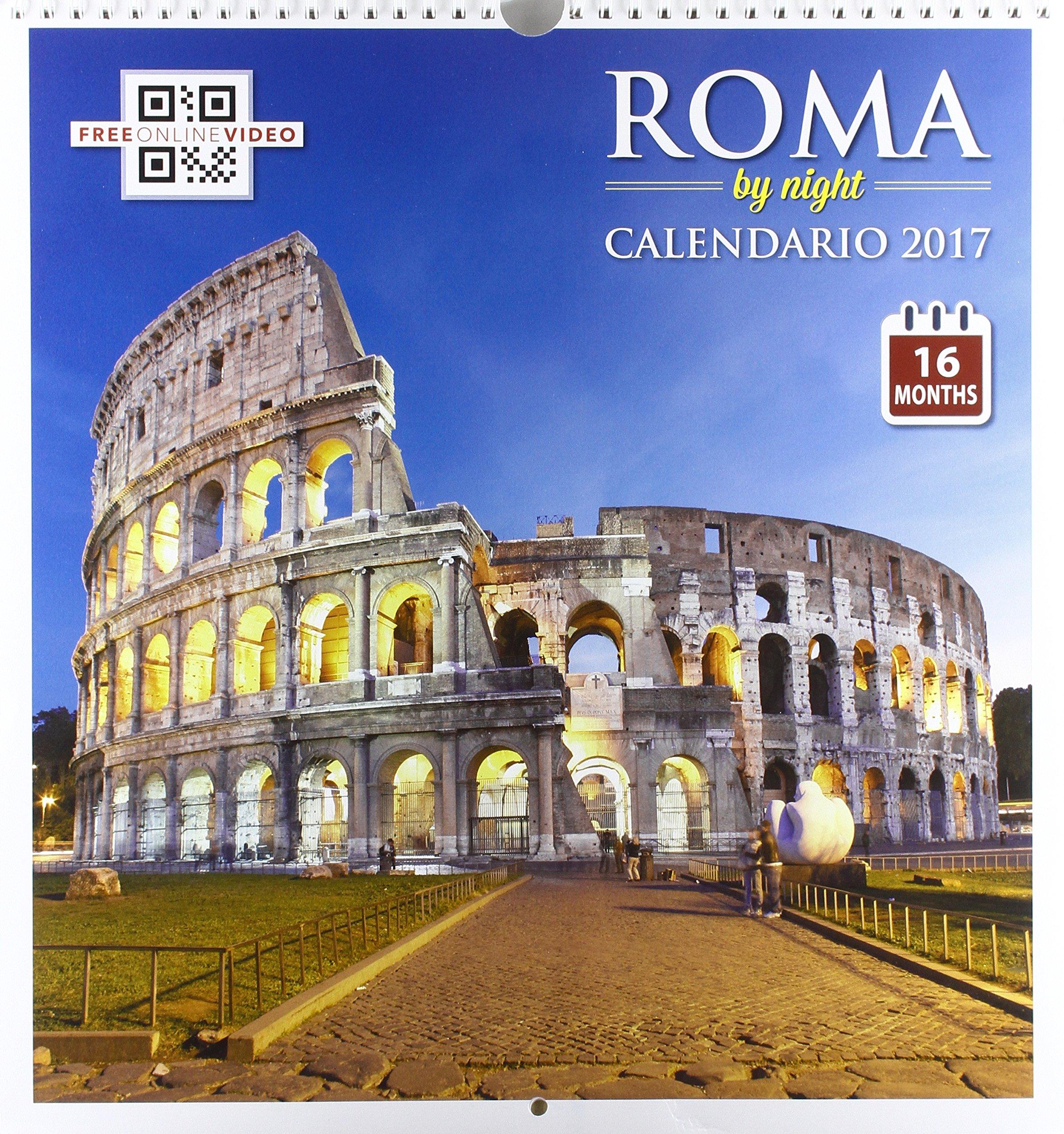 Calendario Grande.Colosseo Notte Calendario Grande 16 Mesi 2016 Aa Vv
