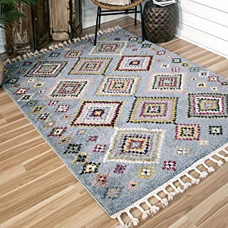 "product image for Orian Rugs Borocco Area Rug, 5'3"" x 7'6"", Blue"