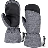 Winter Ski Mittens for Men & Women - Warm Snow Mitts for Cold Weather - Designed for Snowboarding, Skiing, Shoveling…
