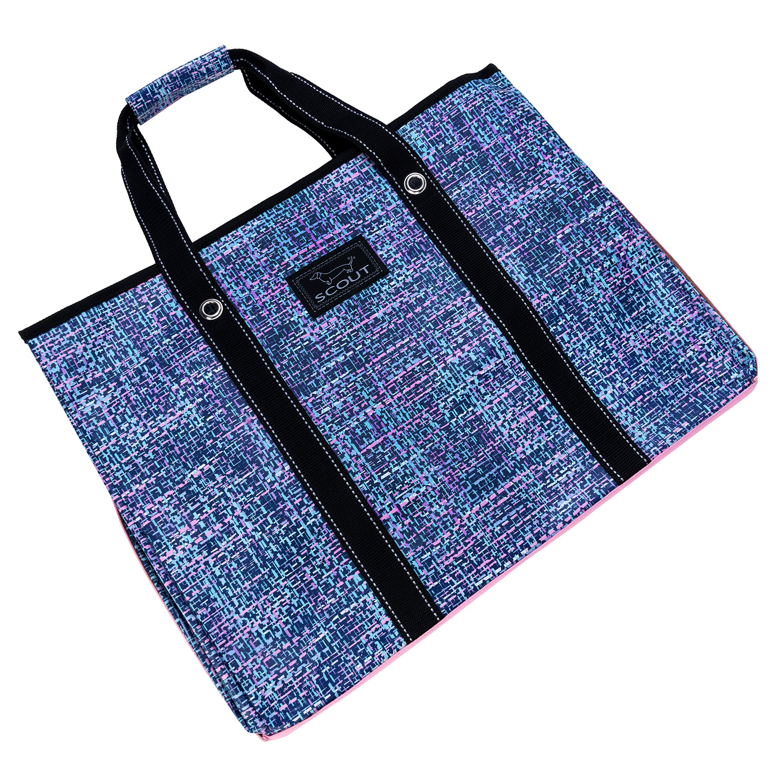SCOUT 3 Girls Bag, Extra Large Water Resistant, Tote Bag, For the Beach, Pool and Everyday Use, Zips Closed, Tweedy Bird by SCOUT (Image #3)