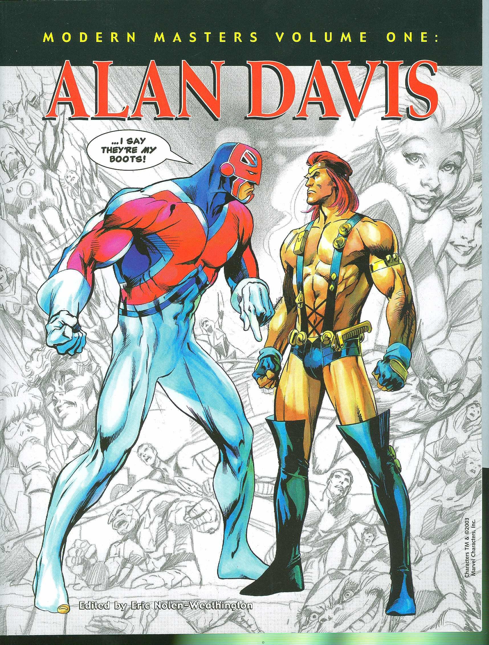 Modern Masters Volume 1: Alan Davis: Eric Nolen-Weathington, Alan ...