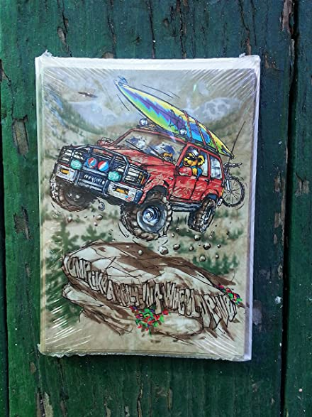 Amazon grateful dead greeting cards off road pack of 12 grateful dead greeting cards off road pack of 12 m4hsunfo Choice Image