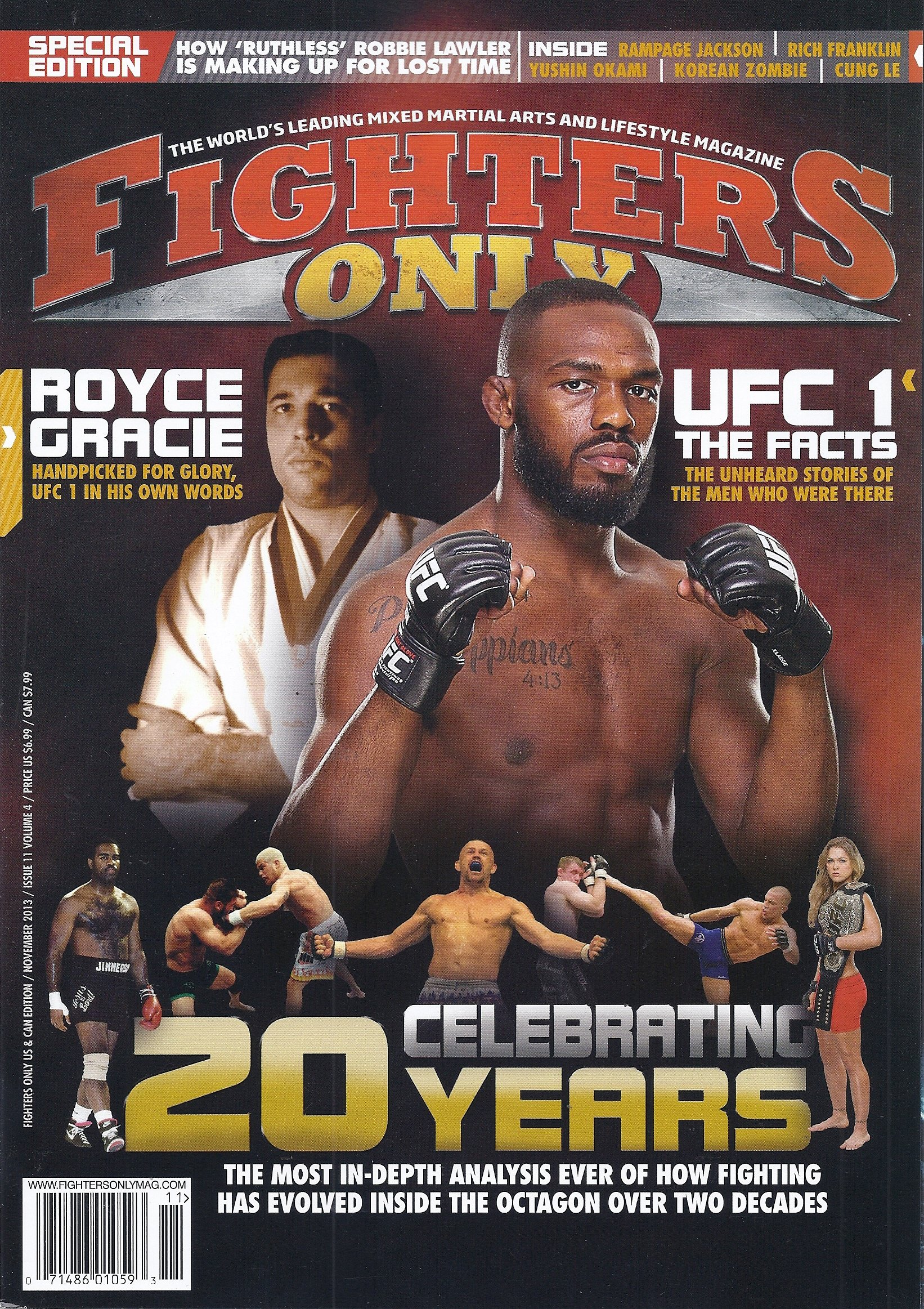 Fighters Only (November 2013 - US & Canada Edition) pdf epub