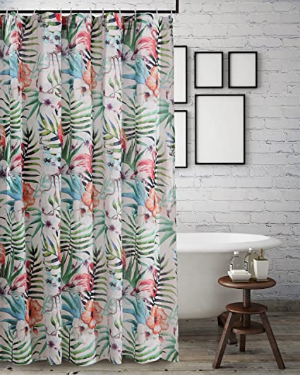 Barefoot Bungalow GL 1804ASHW Shower Curtain One Size Multicolor