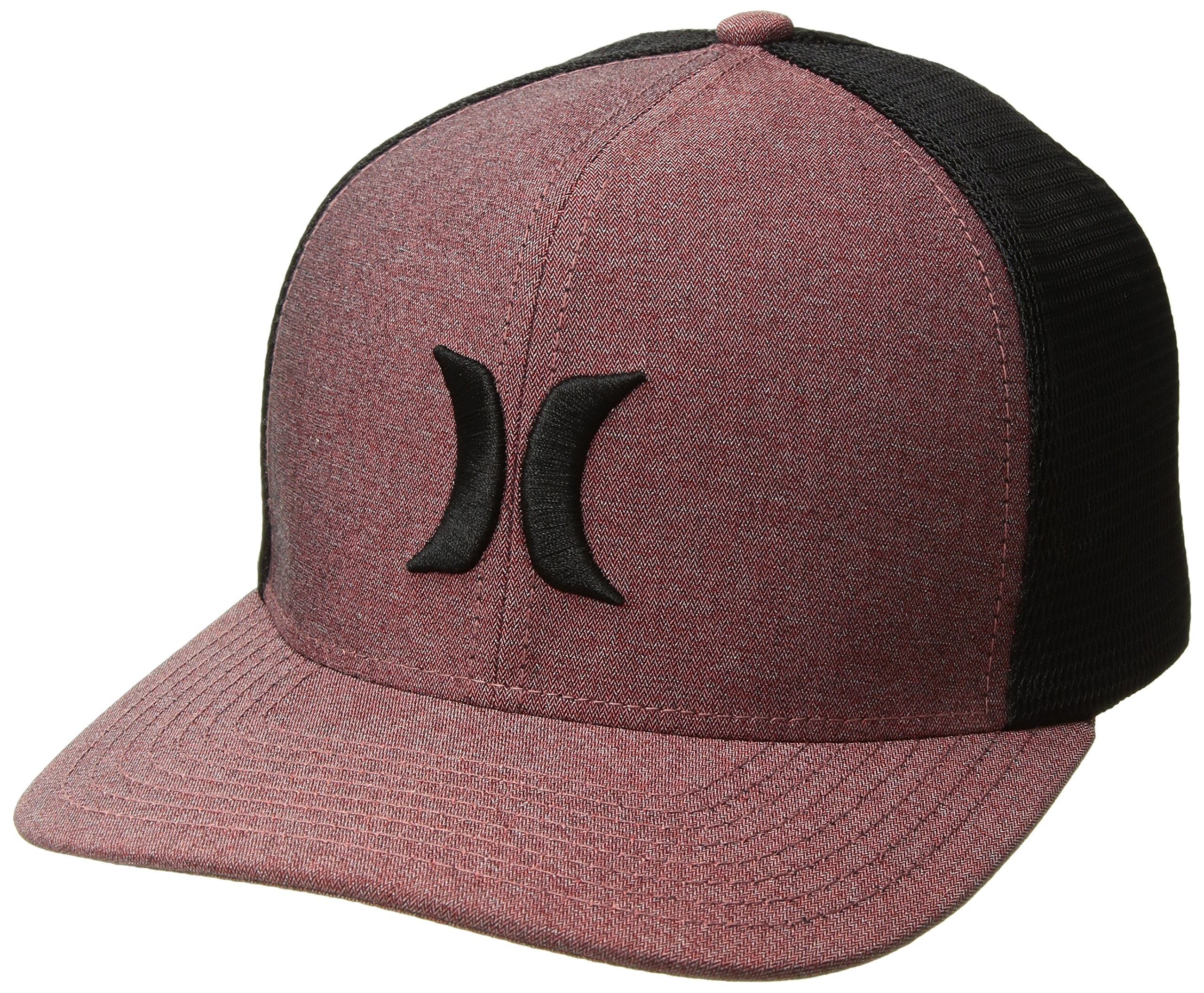 3eb3798eab7b7 Hurley Men s Black Textures Baseball Cap