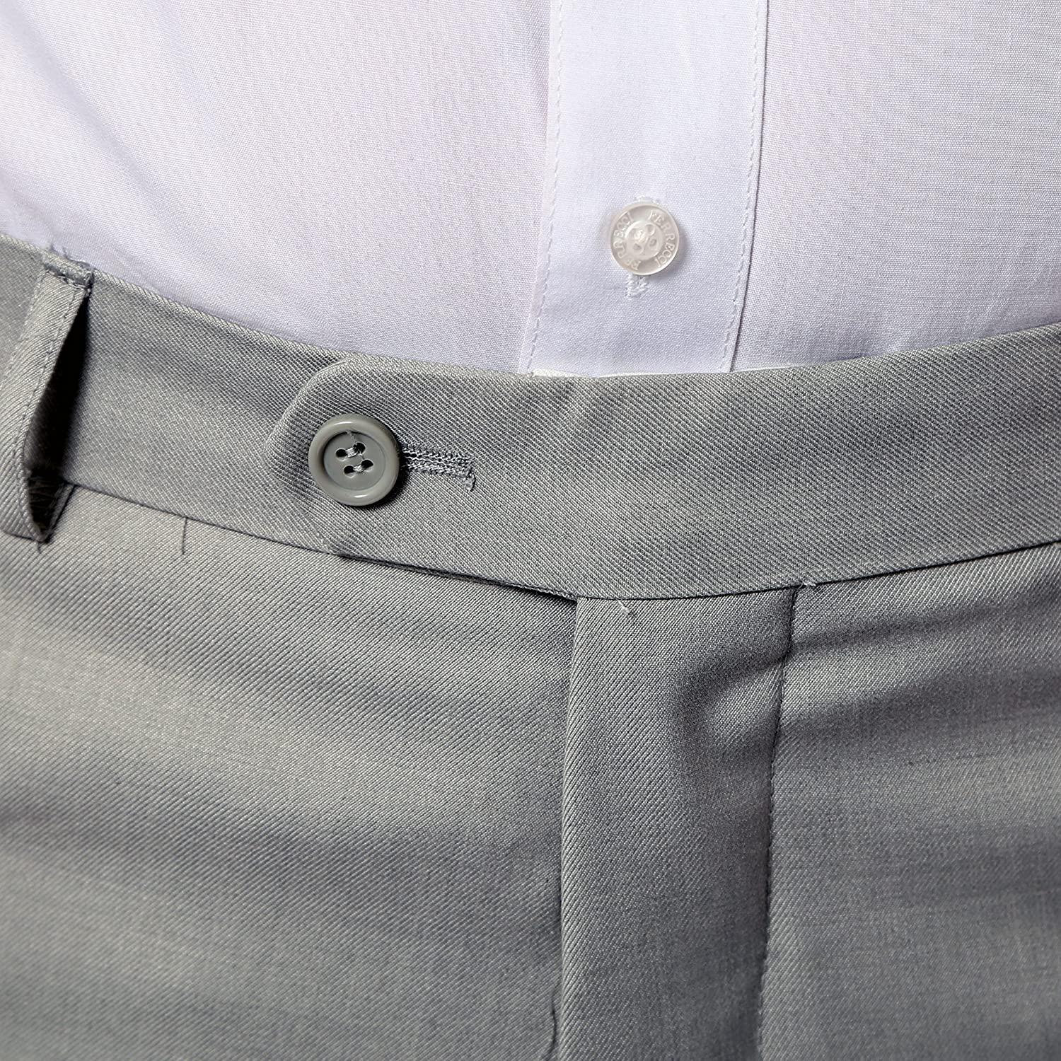 Ferrecci 50R Mens 2pc 2 Button Regular Fit Grey Suit