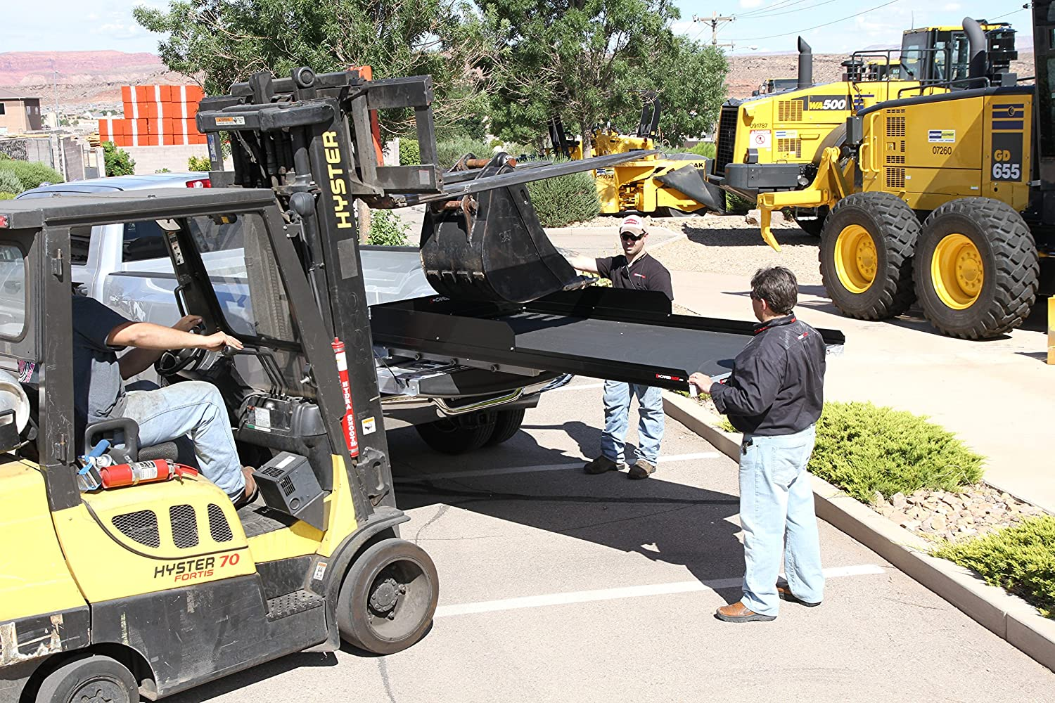 CargoGlide CG1500XL-7548-LP Extension Slide Out Truck Bed Tray 1500 lb Capacity