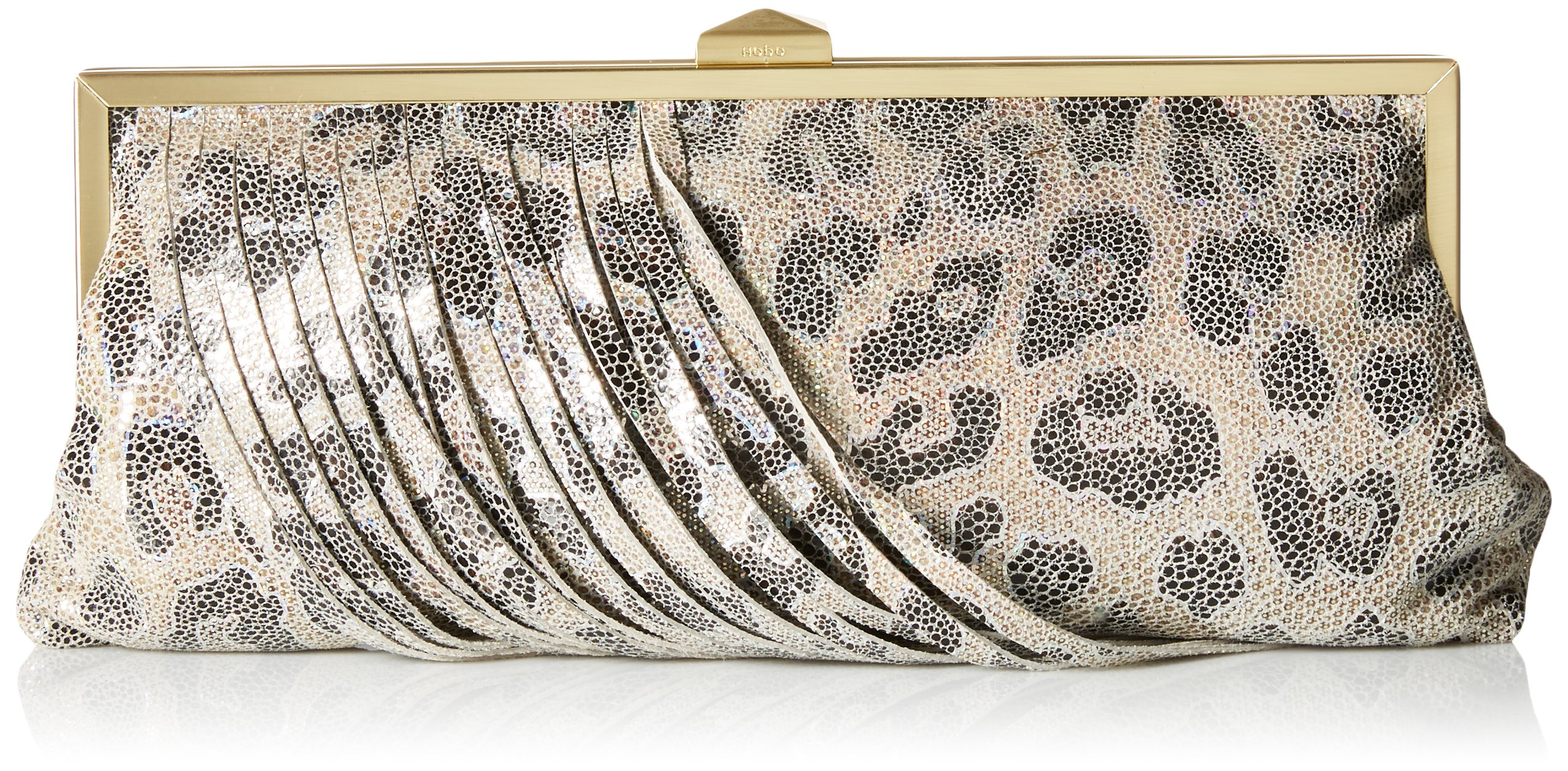 HOBO Vintage Colette Clutch Evening Bag, Cheetah Shimmer, One Size by HOBO