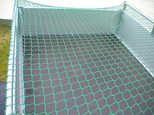 Mit Expanderseil, 6x3m Schwagers-Teileshop Anh/ängernetz von 2,2x1,2m bis 8x3,5m mit und ohne Expanderseil Abdecknetz Container 6 x 3 m knotenlos 600 x 300 cm mit Expanderseil /…
