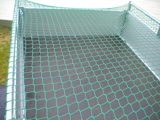 Anhängernetz 2x10m Sicherheitsnetz dehnbar Fangnetz knotenlos Maschen 10x10cm