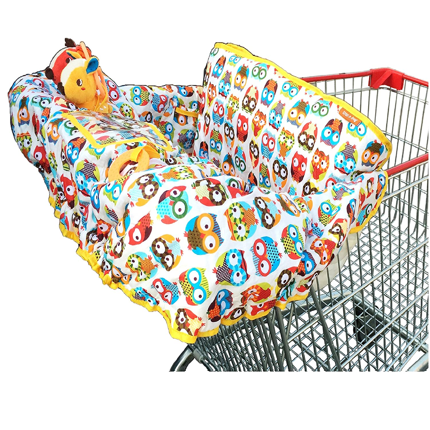 Amazon Crocnfrog 2 in 1 Cotton Shopping Cart Cover