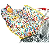 Amazon Price History for:Crocnfrog 2-in-1 Cotton Shopping Cart Cover | High Chair Cover for Baby