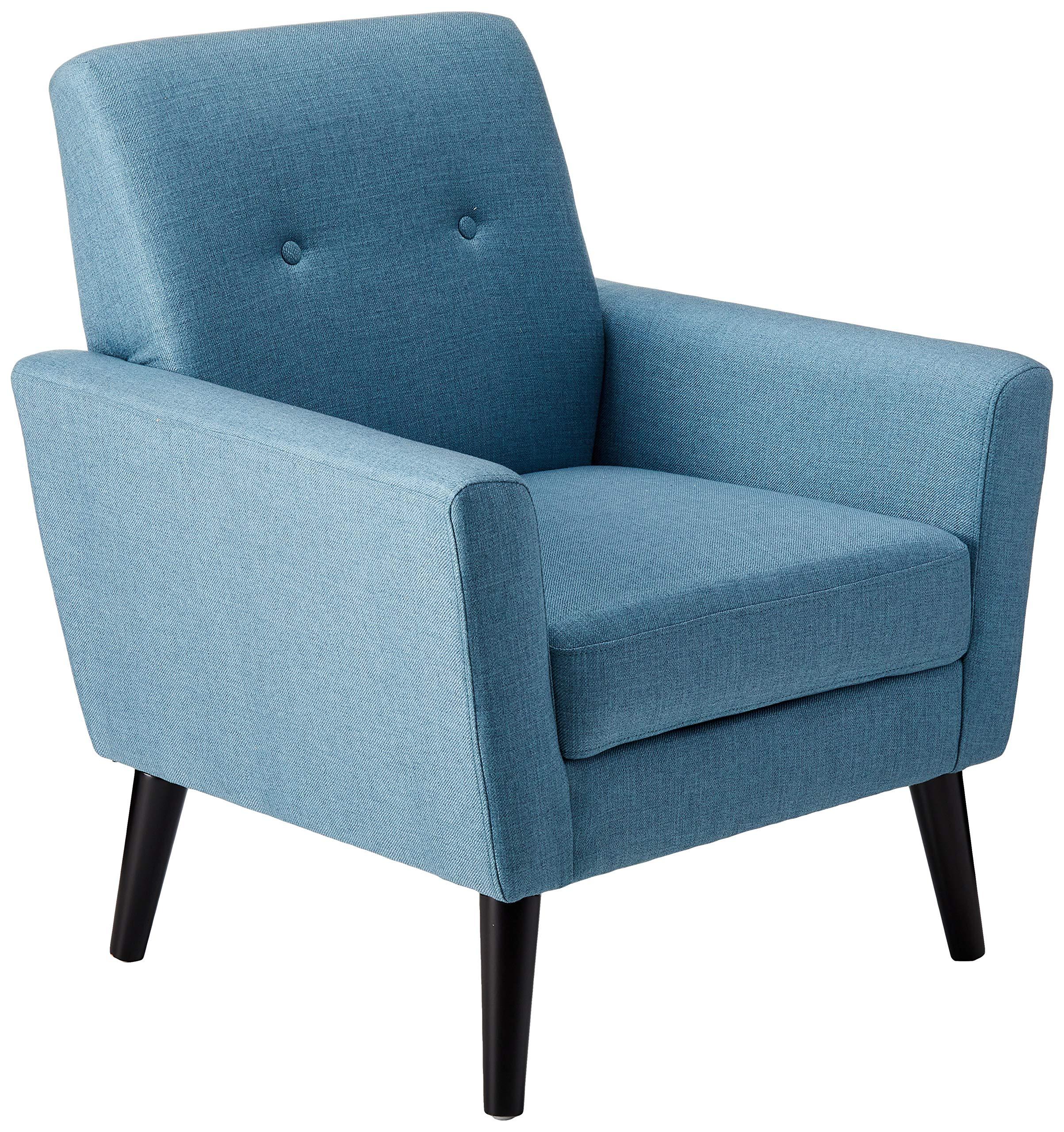 Christopher Knight Home Sierra Mid Century Blue Fabric Club Chair by Christopher Knight Home