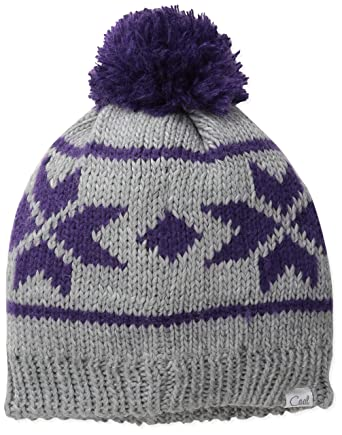 d15b7b6c1472c Coal Women s The Britta Snowflake Pattern Beanie Hat Pom