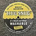"100yds 1/2"" Schiff Seam Binding Hug Snug Ribbon Color Chalk White #000"