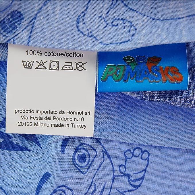 Juego de sábanas de PJ Masks para cama invididual, 100 % algodón: Amazon.es: Hogar