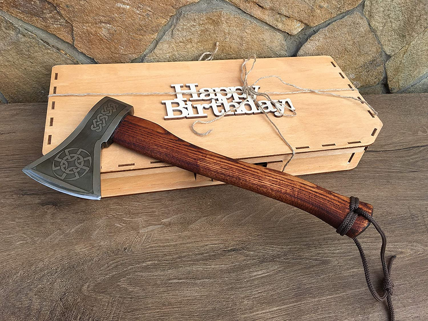 iron gifts steel 11th anniversary Mens gift anniversary gift steel gifts for men viking axe axe tomahawk Kratos axe handyman tool
