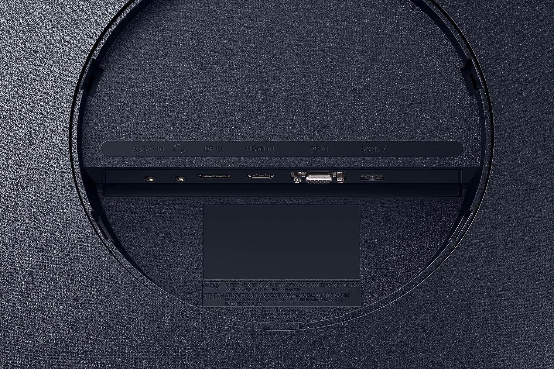 Samsung C32T550FDU 80,01 cm 32 Zoll Curved Monitor 1.920 x 1.080 Pixel, 16:9 Format, 75 Hz, 4ms, 1000R, dual monitor geeignet, pc monitor, AMD FreeSync dunkelblaugrau