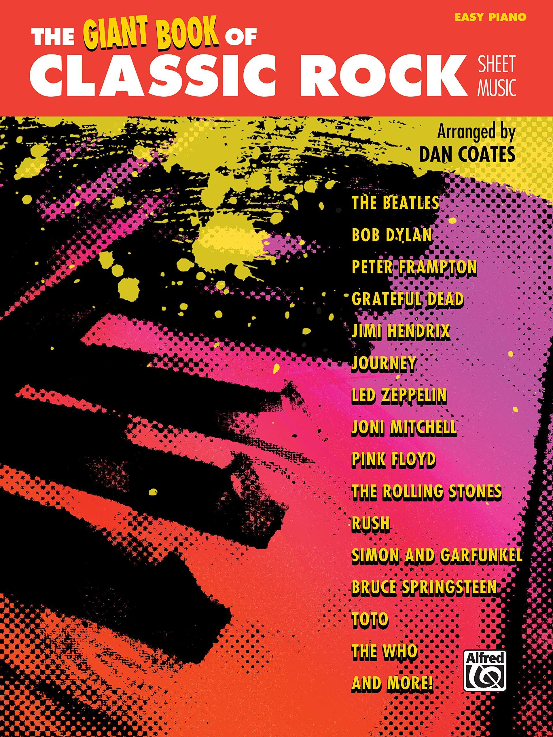 The giant book of classic rock sheet music easy piano the giant the giant book of classic rock sheet music easy piano the giant book of sheet music dan coates 0038081472126 amazon books fandeluxe Images