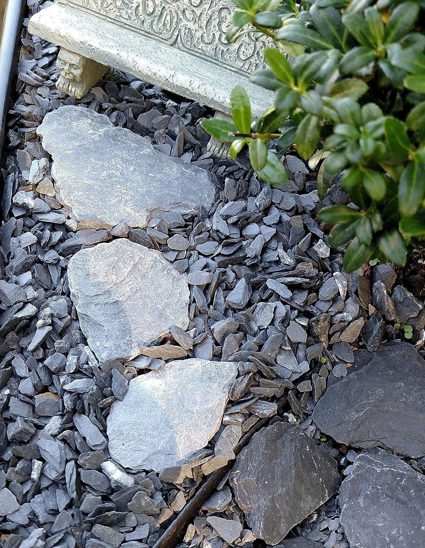 Amazon.com: Piedras de laja para jardín en miniatura ...