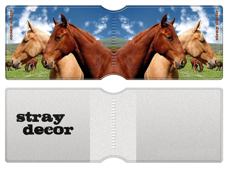 Navigo Pass Passe dautobus Passe Navigo et Moneo Horses /Étui /à Cartes // Porte-Cartes pour Titres de Transport Cartes de Cr/édit Stray Decor