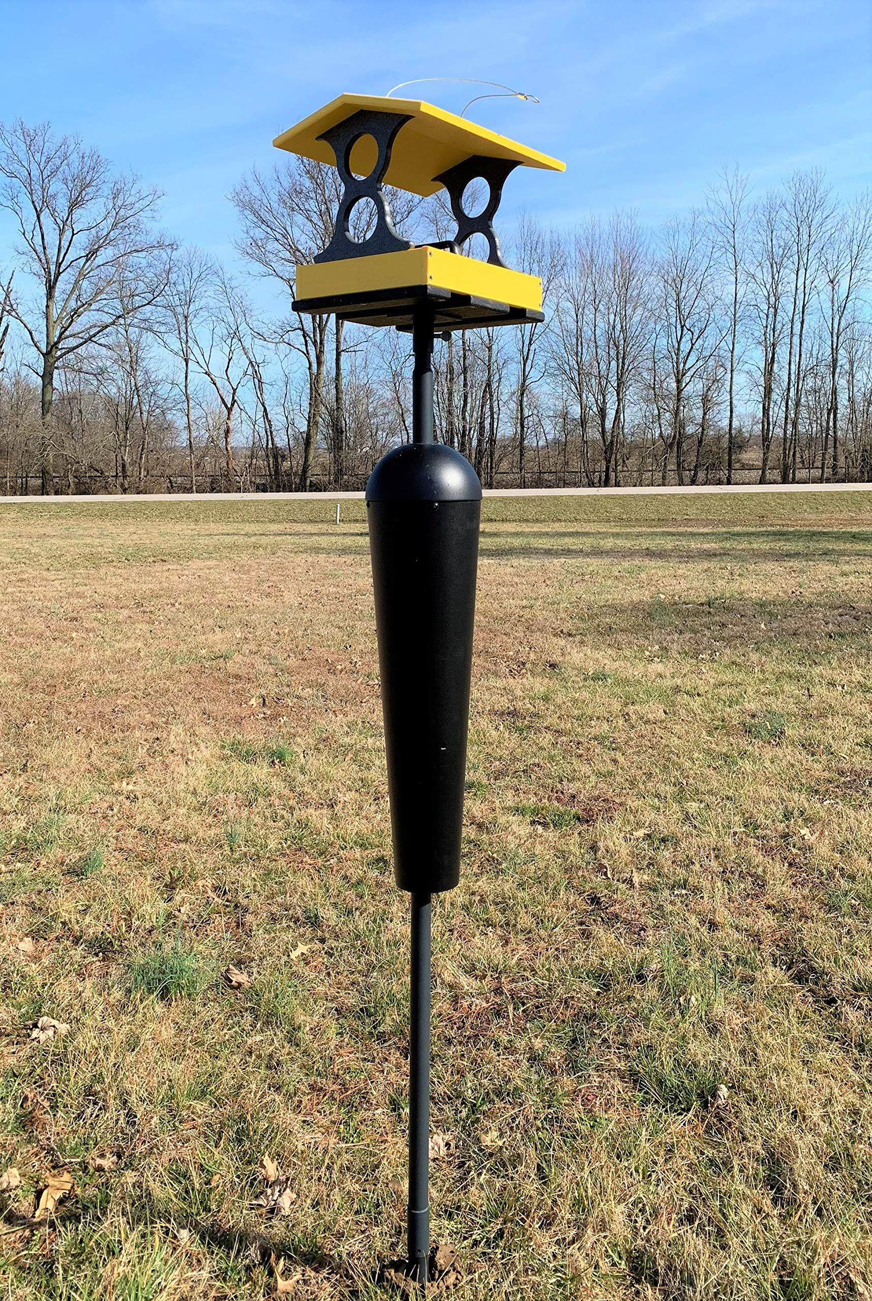 Squirrel Stopper Denali Squirrel Proof Mounting Pole System by Squirrel Stopper (Image #4)