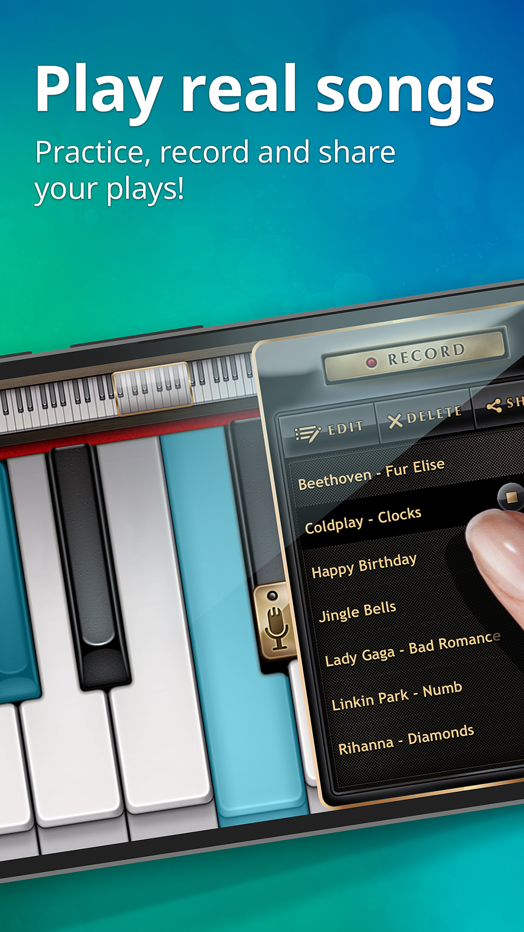 Piano Free - Virtual Piano Keyboard with Games to Learn