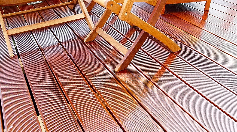 BEKATEQ BE-213 Gartenmöbelöl Terrassenöl Teakholz Eukalyptus Holztisch Pflege Holzmöbel ölen Holzpflegeöl (10L)