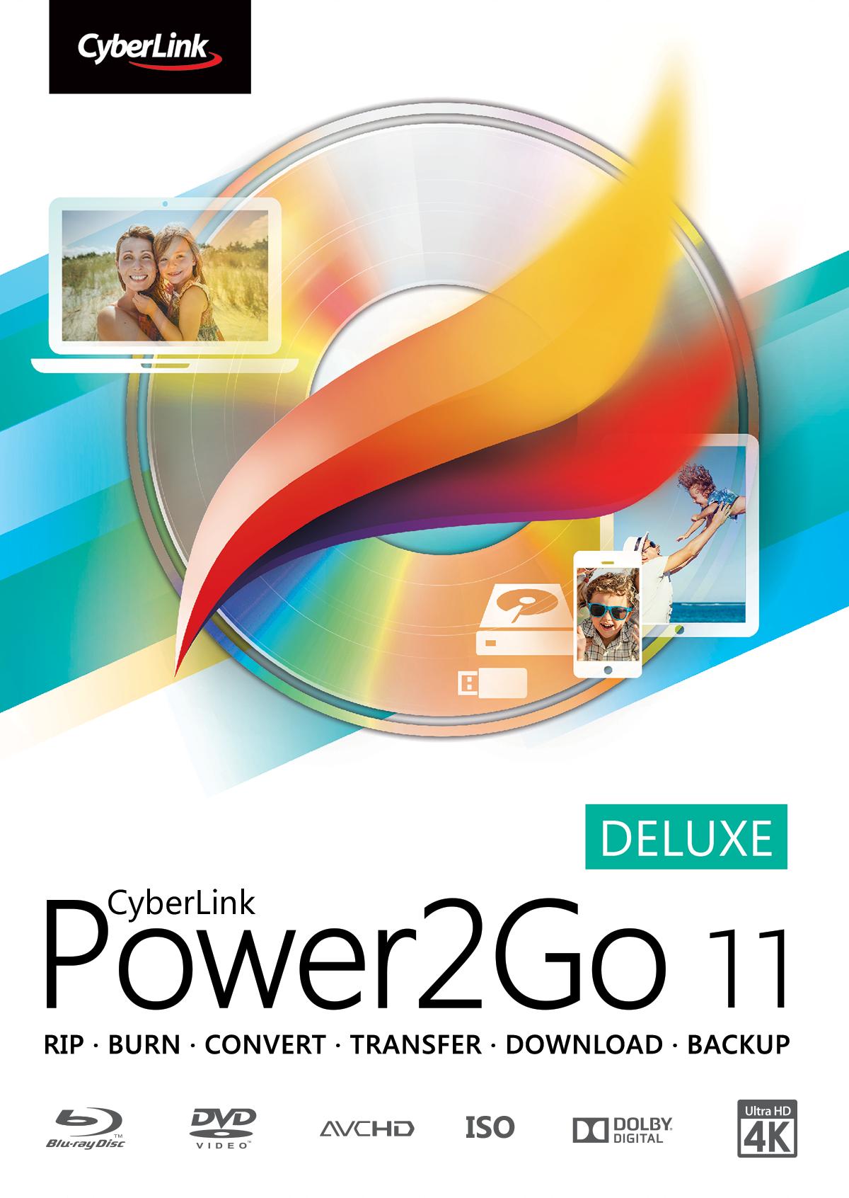 Cyberlink power2go 7 deluxe 2011 pc