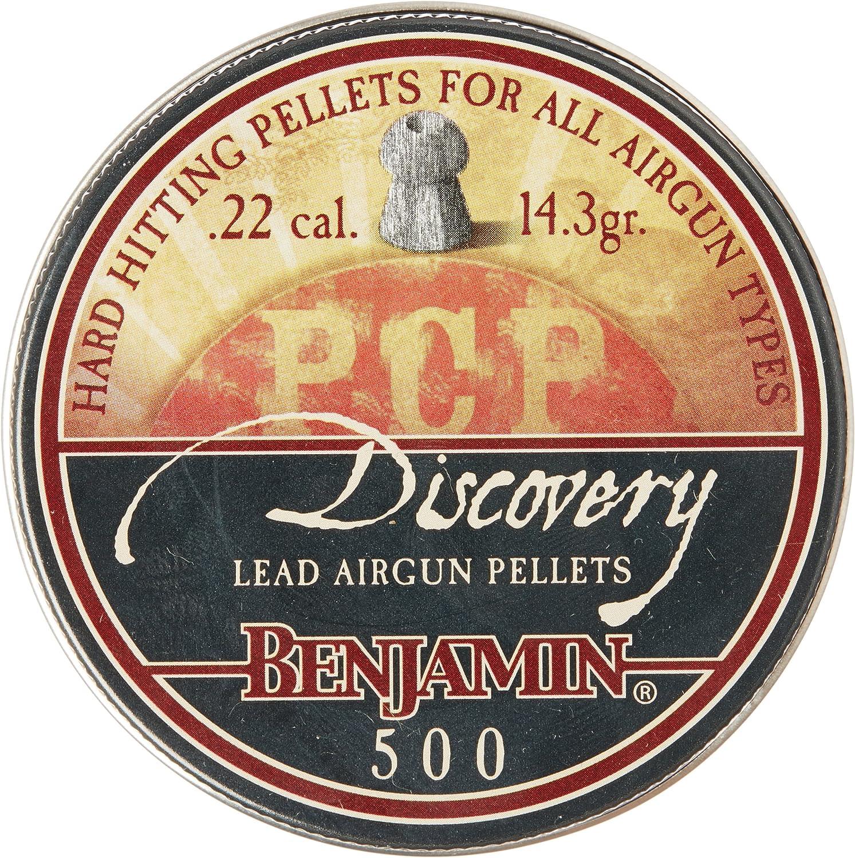 Benjamin BHP22 Hollow Point Pellets (500-Count),0.22