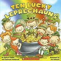 Image for Ten Lucky Leprechauns